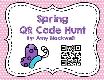 Spring QR Code Hunt