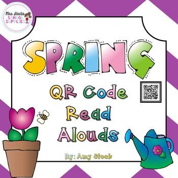 Spring QR Code Read Alouds