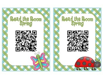Spring QR Code - Read the Room