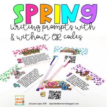 Spring QR Code Writing Cube