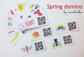 Spring QR domino