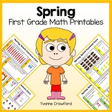 Spring No Prep Common Core Math (1st grade)