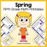 Spring No Prep Common Core Math (5th grade)