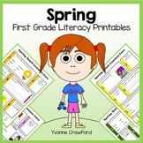 Spring No Prep Common Core Literacy (1st grade)