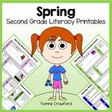 Spring No Prep Common Core Literacy (2nd grade)