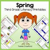 Spring No Prep Common Core Literacy (3rd grade)
