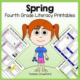 Spring No Prep Common Core Literacy (4th grade)