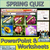 Spring PowerPoint Quiz Lesson