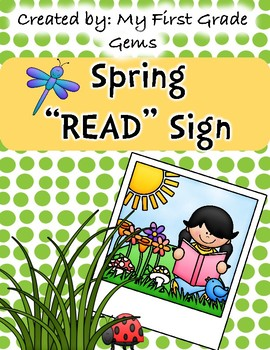 Spring READ Classroom Poster