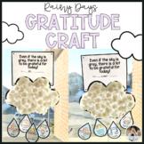 Spring Rain Craft Gratitude Lessons for Social Emotional Learning
