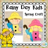 Spring Rain Kids Craft