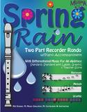 Spring Rain ZipPack (Sheet Music and Piano Accompaniment)