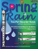 Spring Rain ZipPack (Sheet Music and Piano Accompaniment)