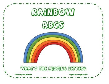Spring: Rainbow ABCs