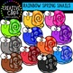Spring Rainbow Bundle: Spring Clipart {Creative Clips Clipart}