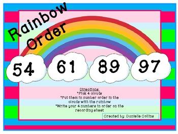Spring Rainbow Ordering Numbers