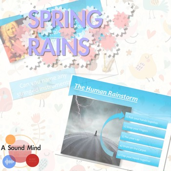 Spring Rains : Songs & Games