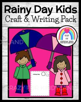 Spring Craft and Writing: Rainy Day Kids