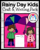 Spring, Weather Craft and Writing: Rainy Day Kids