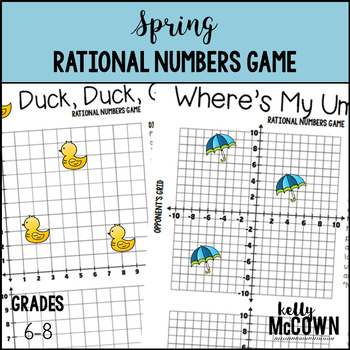 Spring Rational Numbers Game
