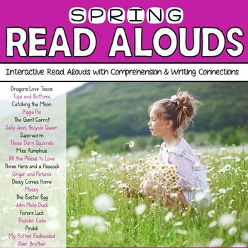 Spring Read Alouds: Interactive Read Aloud Freebie Sampler: Tops and Bottoms