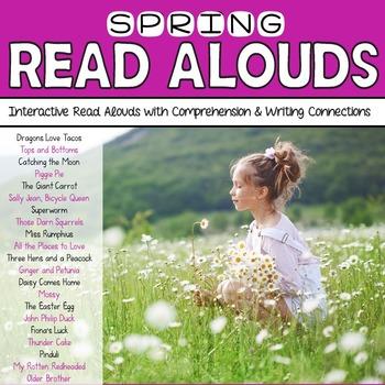 Spring Read Alouds: Interactive Read Aloud Freebie Sampler