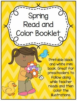 Spring Read and Color Booklet