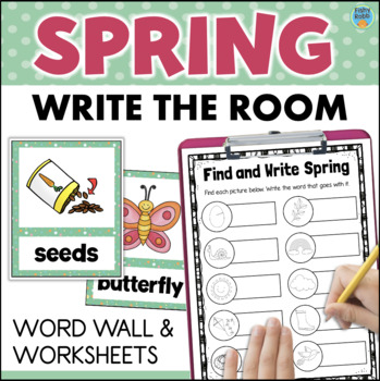 Spring Vocabulary Worksheets & Teaching Resources | TpT