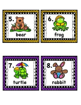 Spring Read and Write the Room Cards w/Extension Cards & Documentation Sheet