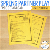 Spring Reader's Theater Script: A Partner Play for Two Readers