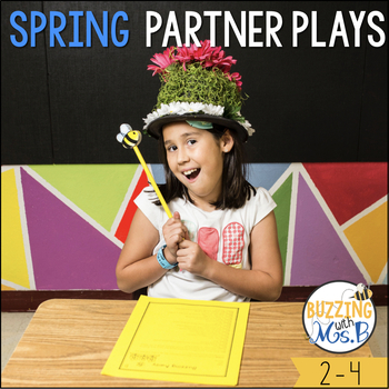 Spring Partner Plays - differentiated scripts for two readers
