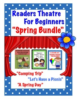 Readers Theatre For Beginners Spring Bundle