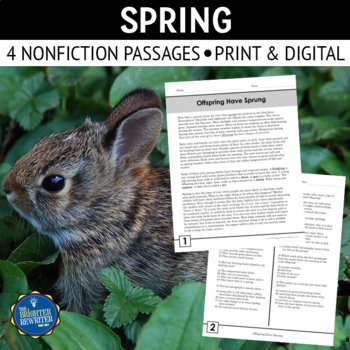 Spring Nonfiction Reading Passages