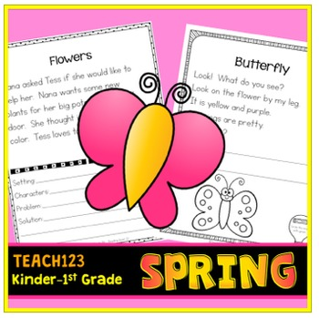 Kindergarten and 1st Grade Reading Passages
