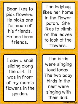 Spring Reading Activities & Printables