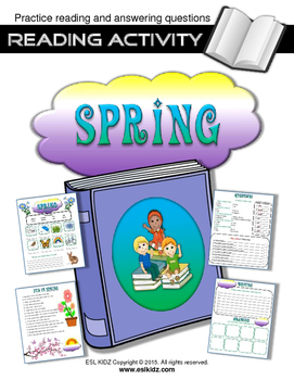 Spring Reading Activity with Questions