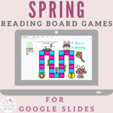 Spring Reading Board Games for Distance Learning