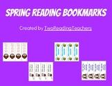 Spring Reading Bookmarks