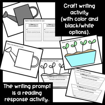 Spring Bulletin Board Set and Writing Activities {Reading}