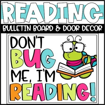 Spring Reading Bulletin Board Or Door Decoration By Briana Beverly