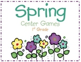 Spring Reading Centers 1st Grade