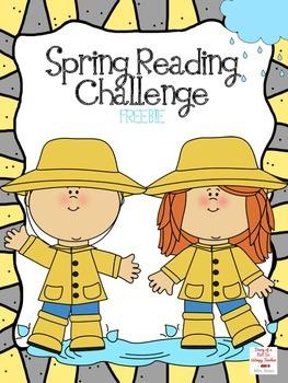 Spring Reading Challenge FREEBIE