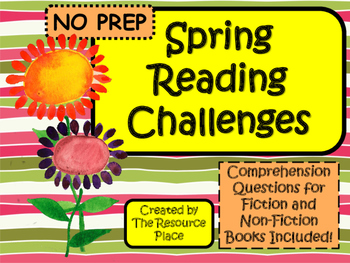Spring Reading Challenges!