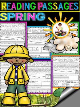 Spring Reading Comprehension FREEBIE