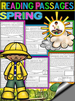 Spring Reading Comprehension FREEBIE