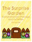 Spring Reading Comprehension First Grade - The Surprise Garden