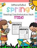 Spring Reading Comprehension Pack Freebie