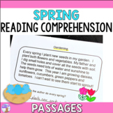 Spring Reading Comprehension Passages