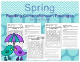 Spring Reading Comprehension Passages Second Grade