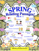 Spring Reading Comprehension Passages and Questions  Mini Books + Farmer's Game!